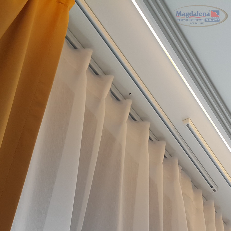 1 Szyna Sufitowa Ks Aluminiowa Dekoracja Okna Pphu